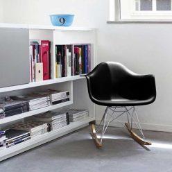 Cadeira de Baloiço | Preta | Escritório | Ícone | E.CAD-4
