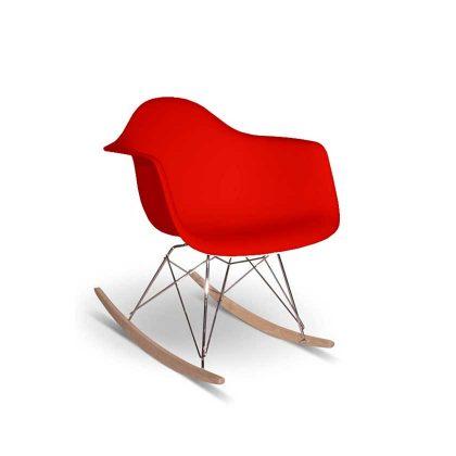 Cadeira de Baloiço | Vermelho | E.CAD-4