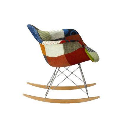 Cadeira de Baloiço | Patchwork | Ícone | Lateral | E.CAD-14