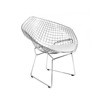 Cadeira | Moderna | Original | Branca | Perfil | E.CAD-17