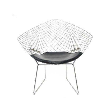 Cadeira | Moderna | Original | Preta | Frente | E.CAD-17