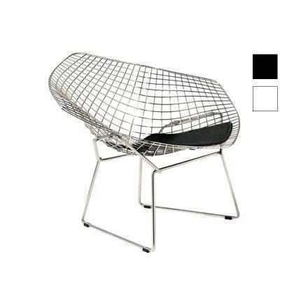 Cadeira | Moderna | Original | Preta | Perfil | E.CAD-17