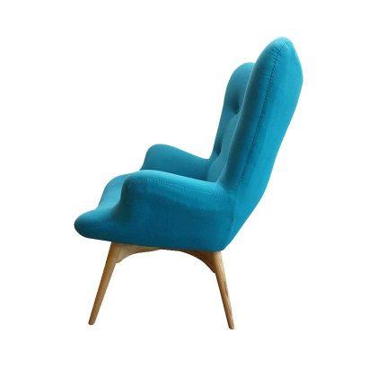 Cadeirão | Ícone de Design | Conforto | Lateral | E.CDO-9