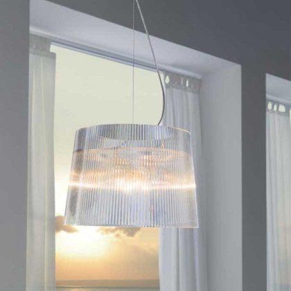 Candeeiro de Tecto | Iluminação | Transparente | Quarto | IT.CND-23 | Iluti