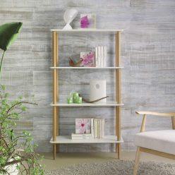 Estante | Design Nórdico | Escritório | Sala de Estar | Frente | E.EST-3