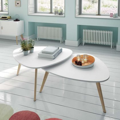 Mesa de Centro | Sala de Estar | Design Intemporal | E.MSA-9 | Iluti