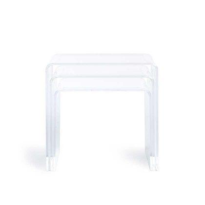 Mesa de Centro | Mesas Conjunto de Três | Sala De Estar | Frente | E.MSA-40