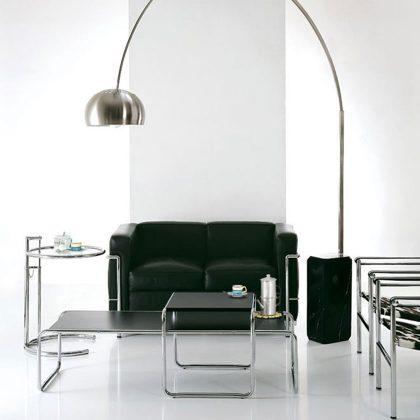 Mesa De Centro | Sala De Estar | Conjunto De Duas Mesas De Centro | Ambiente | Preta | E.MSA-34