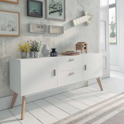 Aparador Moderno | Sala De Jantar | Estilo Nórdico | Duas portas | J.APR-12