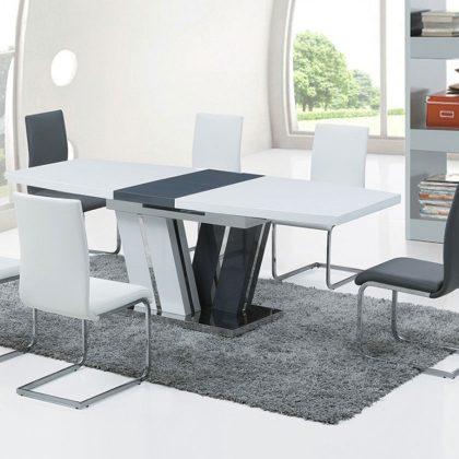 Cadeira De Jantar Branca | Sala De Jantar | Design Simplista | Ambiente | J.CDA-12