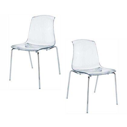 Cadeira De Jantar | Cadeiras Com Design Moderno | Conjunto de 2 | J.CDA-31
