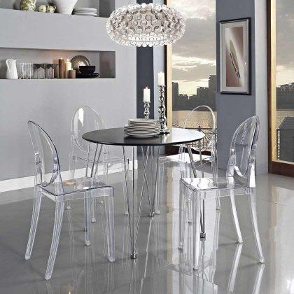Cadeira De Jantar | Design | Conjunto de Duas | Ambiente | J.CDA-19