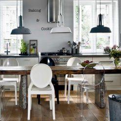 Cadeira De Jantar | Design Elegante | Conjunto de 2 | Ambiente | J.CDA-28