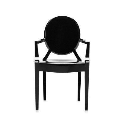 Cadeira De Jantar | Preta | Frente | J.CDA-20