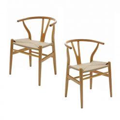 Cadeira De Jantar | Sala De Jantar | Design Escandinavo| Conjunto 2 | Canto | J.CDA-24