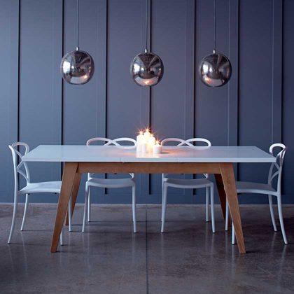 Cadeira De Jantar | Sala De Jantar | Escultural | Branca | Ambiente | J.CDA-2