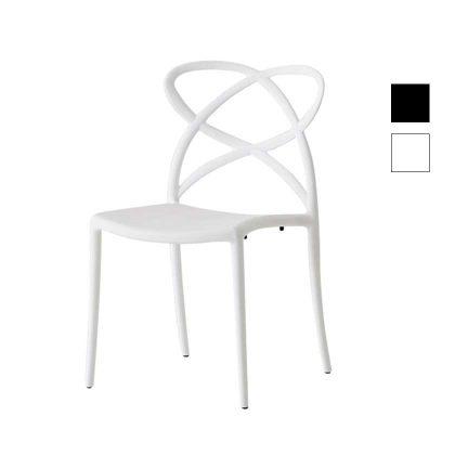 Cadeira De Jantar | Sala De Jantar | Escultural | Branca | Canto | J.CDA-2