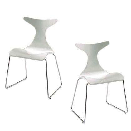 Cadeira De Jantar | Sala De Jantar | Linha Orgânicas | Conjunto 2 | J.CDA-17