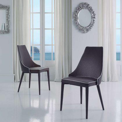 Cadeira Para Sala De Jantar | Estilo Contemporâneo | Conjunto 2 | Ambiente | J.CDA-26