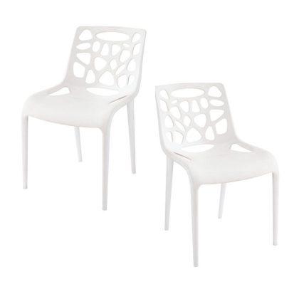 Cadeiras Modernas | Sala De Jantar | Estilo Moderno | Conjunto de 2 | Canto | J.CDA-15