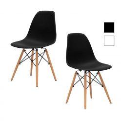 Cadeiras Para Sala De Jantar | Clássico Design | Conjunto de 2 | J.CDA-34