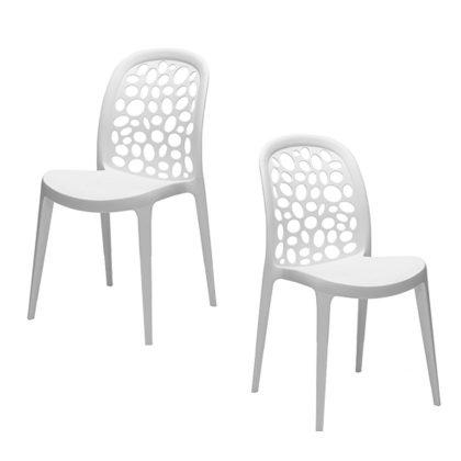 Cadeiras Para Sala De Jantar | Design Original | Conjunto de 2 | J.CDA-16
