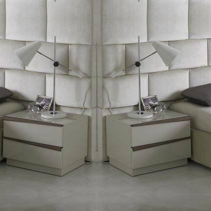 Mesa de Cabeceira | Conjunto de Duas | Quarto | Q.MSA-17P