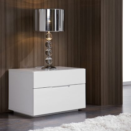 Mesa de Cabeceira | Design Minimalista | Quarto | Q.MSA-11