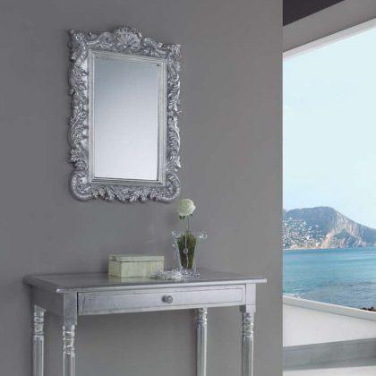 Espelho de Parde | Barroco | Prata | D.ESP-31