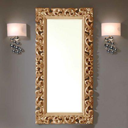 Espelho Decorativo Alto | Moldura Barroca | Dourado | D.ESP-47