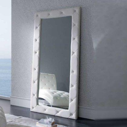 Espelho de Pé | Moldura Polipele | Branco | D.ESP-56